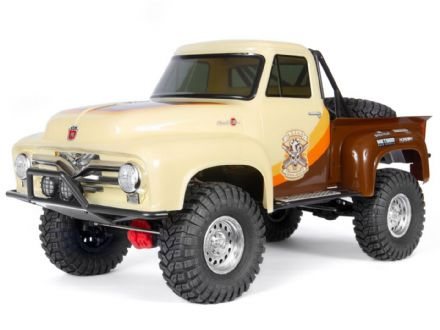 SCX10 II  AXI03001T1 1955 Ford F-100 4WD 1/10th RTR - Brown